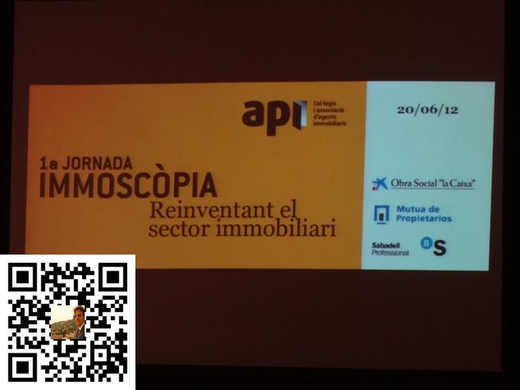 1ª Jornada Immoscópia para Agencias Profesionales Inmobiliarias de España celebrado en Barcelona