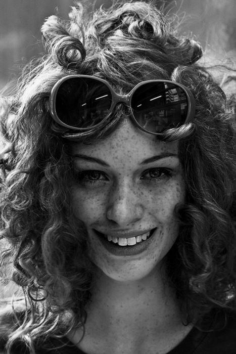 Freckles & a killer smile #freckles
