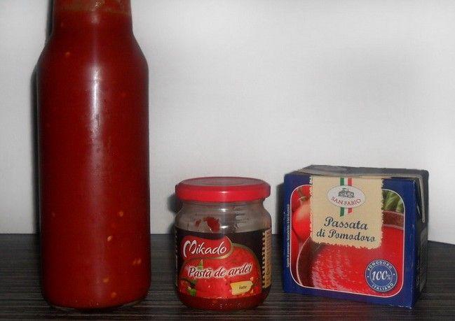 Reteta pentru sos de ardei iute