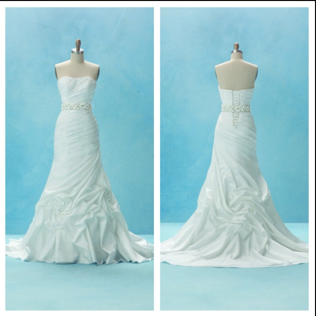 Top 25 ideas about jasmine wedding dresses on pinterest for Princess jasmine wedding dress