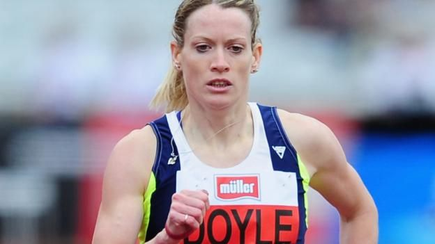 Monaco Diamond League: Team GB hurdler Eilidh Doyle sets new personal best - BBC Sport