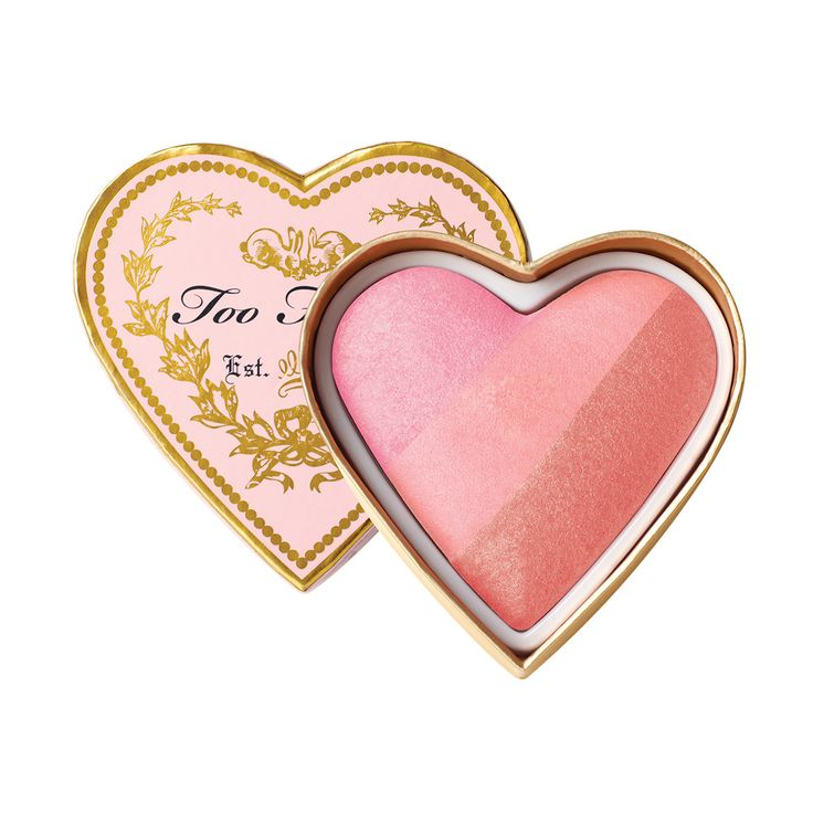 Love this blush! I always reach for it and always get compliments when I wear it. It gives you that innocent flushed look! ❤ by TOO FACED
