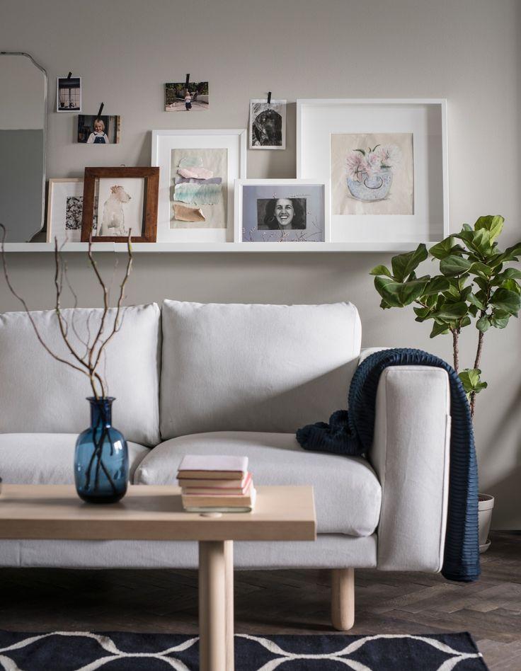 mietwohnung individuell einrichten bilderleiste sofa und sehen. Black Bedroom Furniture Sets. Home Design Ideas
