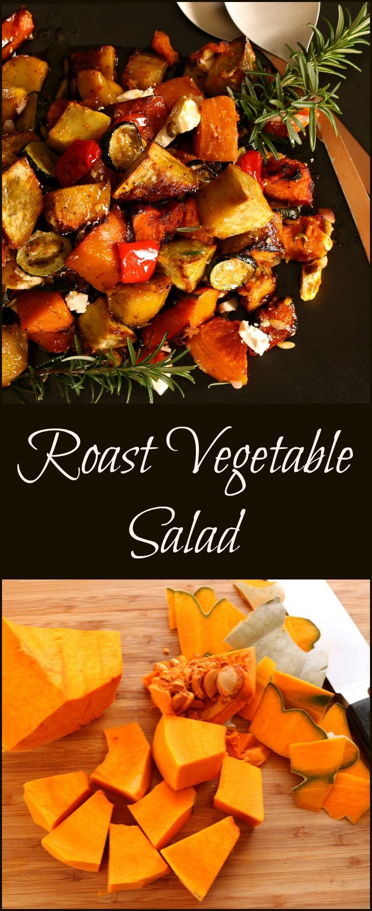Roast Vegetable Salad with Maple Dressing