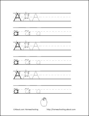 10 activities that will teach your child to write the letter 39 a 39 places to visit teaching. Black Bedroom Furniture Sets. Home Design Ideas