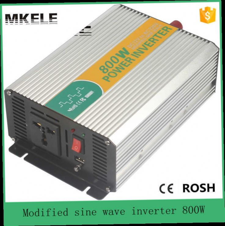 47.60$  Buy here - http://ali272.worldwells.pw/go.php?t=32579181703 - MKM800-121G modified 800w off grid 12v to 110/120vac inverter power inverter for vehicle off grid inverter for universal use 47.60$