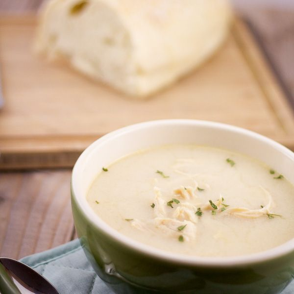 Avgolemono Soup | Greek Egg-lemon Soup