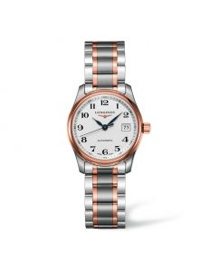 MASTER COLLECTION 29 MM LADY ACERO/ORO ROSA Ref: L2.257.5.79.7