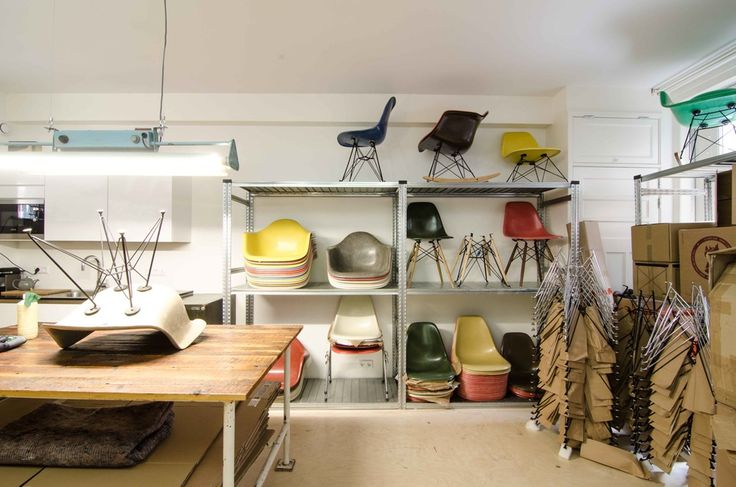 Image of Vintage Eames Chairs - Lots of combinations possible!