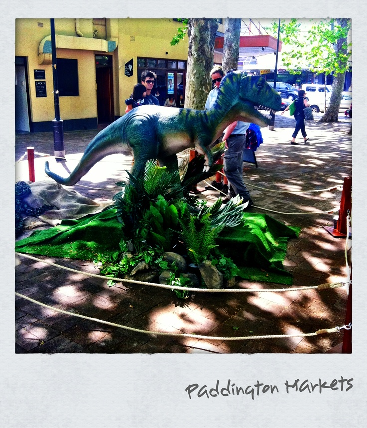 T-Rex @ Paddington Markets