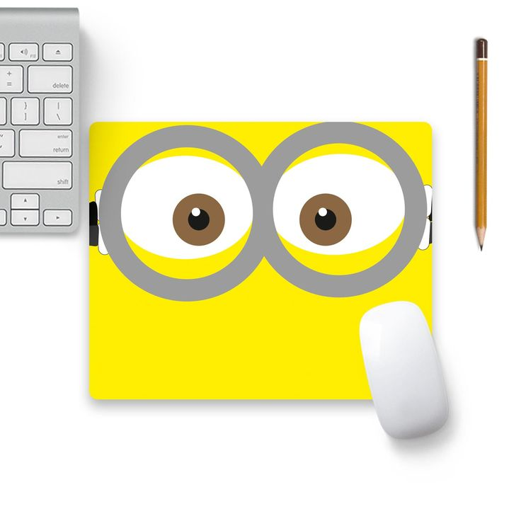 Now available on our store: A Cute Minion Eye.... Check it our here! http://www.colorpur.com/products/a-cute-minion-eyes-mouse-pad-black-base-artist-astha?utm_campaign=social_autopilot&utm_source=pin&utm_medium=pin