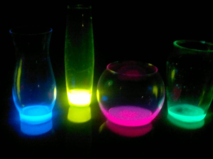 17 Best Images About Science Experiments On Pinterest Balloons With Glow Sticks Inside Stick Wedding Centerpieces