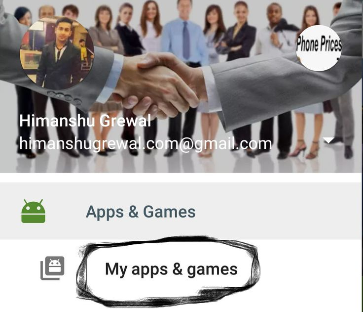 My Apps & games