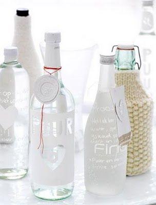 { k j e r s t i s l y k k e }: bottles of water