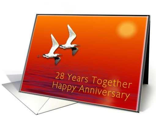 Happy 28th Anniversary Happy 28th Anniversary Journey