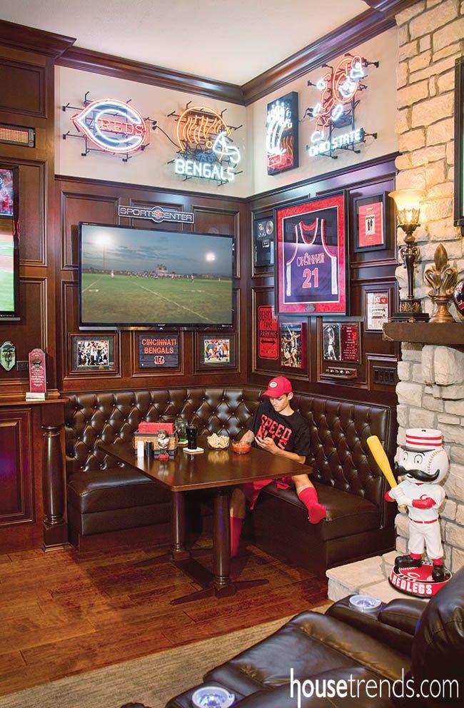Sports Bar Man Cave