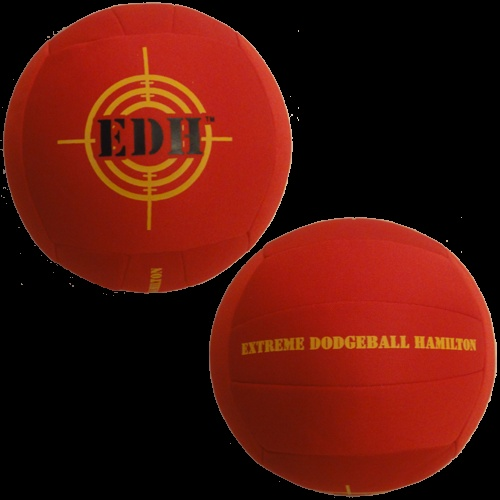 Extreme Dodgeball Hamilton -- who needs anger management when you can smoke people with balls?