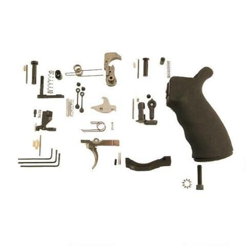 Spikes Tactical AR-15 Enhanced Lower Parts Kit, Complete, Semi-Auto - SLPK301 - 855319005440