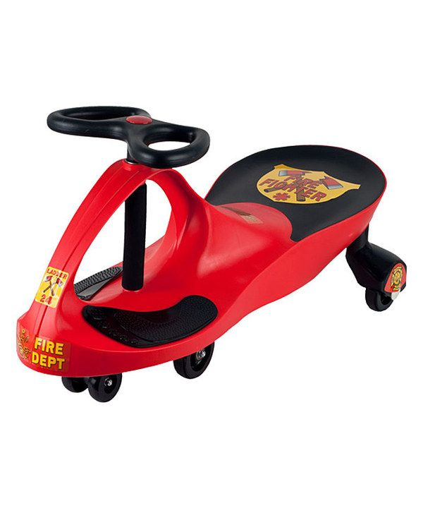 Beau Lilu0026 Rider Rescue Firefighter Wiggle Ride On Car   Red