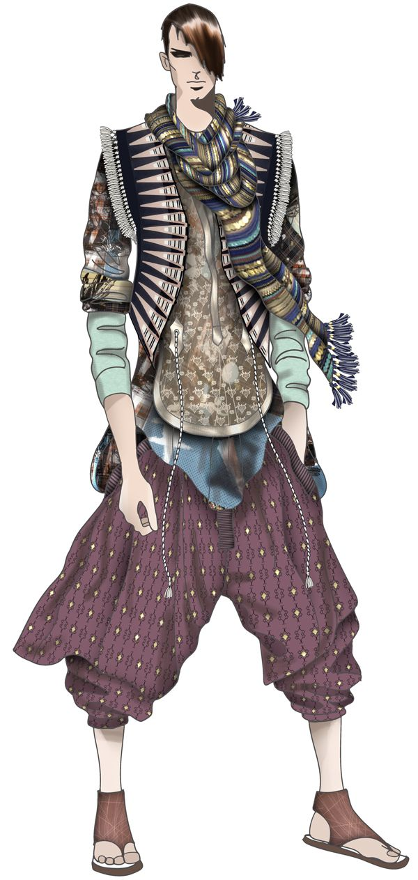 Westminster Fashion Illustration