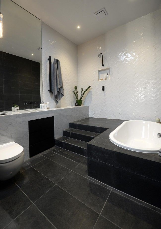 The Block Glasshouse 2014  Bathroom reveal love the white tiles on the wall