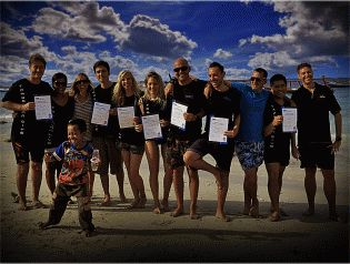During the PADI Instructor Development Course (IDC) in the Gili Islands, Indonesia candidates are always encouraged to donate to Project AWARE, but it's great to see all of the candidates giving a donation. The PADI IDC Indonesia takes place every month at Trawangan Dive; the only PADI 5 Star IDC Career Development Center (CDC) in Gili Trawangan. All Instructor level training is conducted by Multi Award Winning Platinum PADI Course Director Holly Macleod.