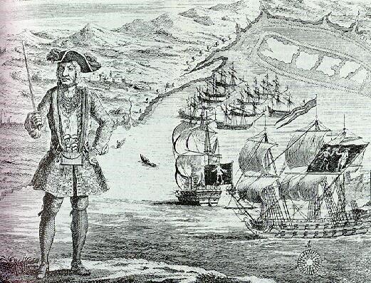 Os 7 piratas mais famosos da História mundial