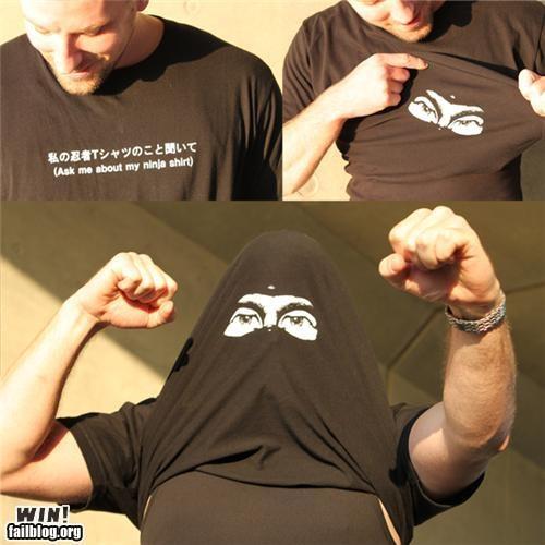 Ninja!! Ted needs this.