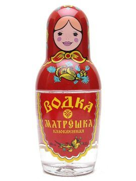 Russian Doll Vodka from Russia - #RussianDoll #RussianDollVodka