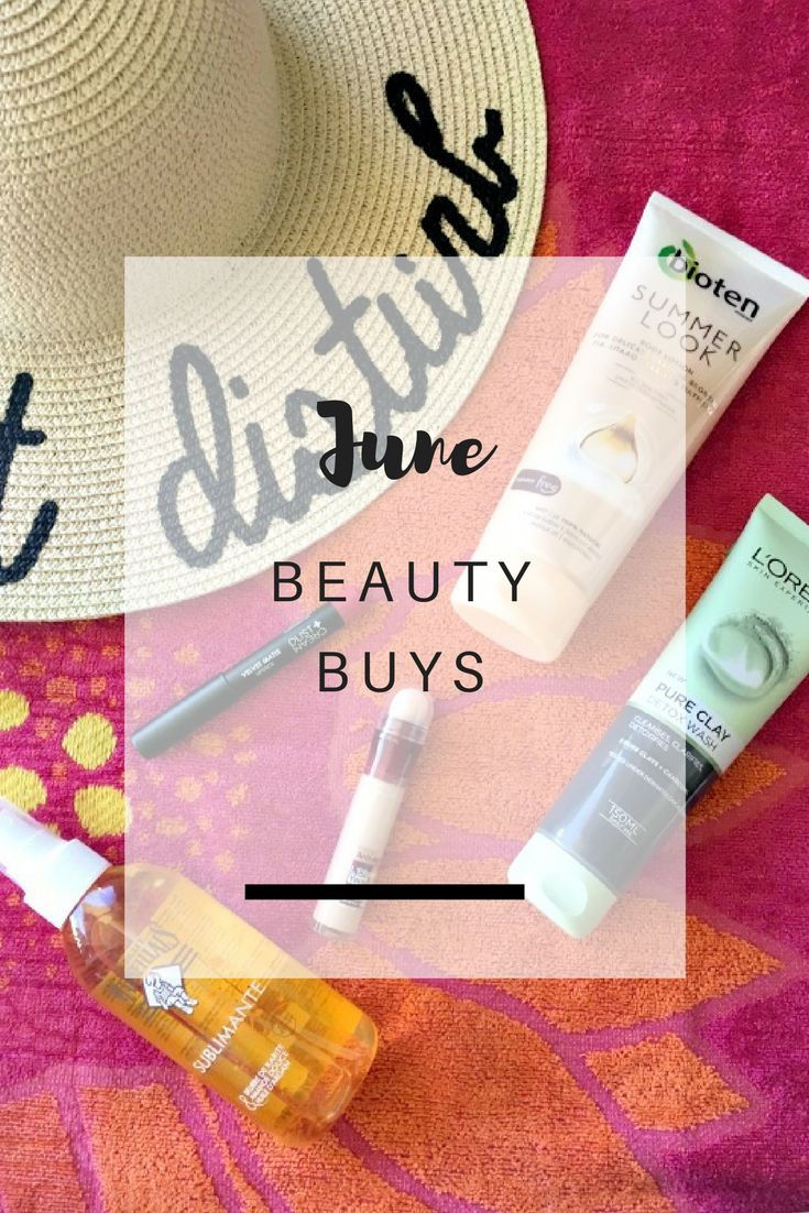 June Beauty Buys: Sharing everything beauty related I've bought during June and my first impressions about them - Ioanna's Notebook