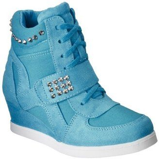 Studded Sneaker Wedges for little girls at Target! Cute!