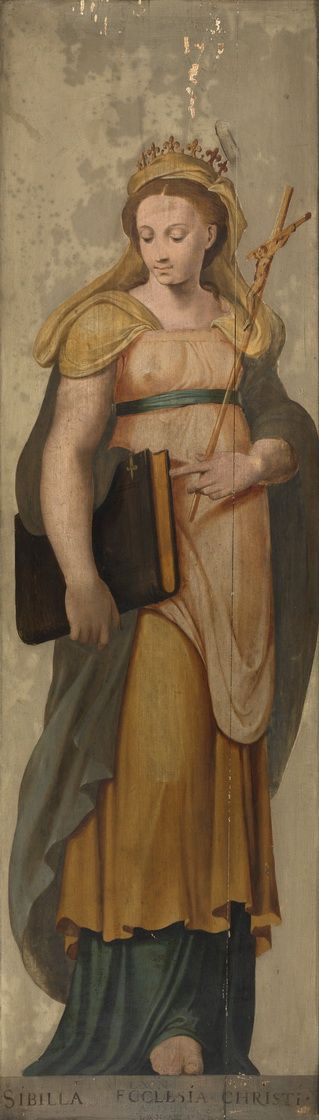 Lambert van Noort - The Sibyl and the church