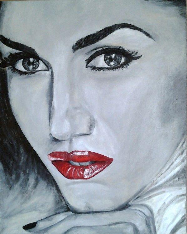 Gwen.jpg - Painting,  4x80x100 cm ©2014 da Catia Biso -  Pittura, Altro