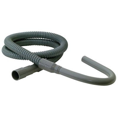 EASTMAN 6-ft 60-PSI PVC Washing Machine Drain Hose