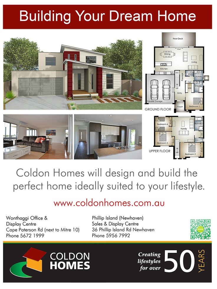 Newspaper advertising for Coldon Homes. Discover more at http://gtcdesign.net/