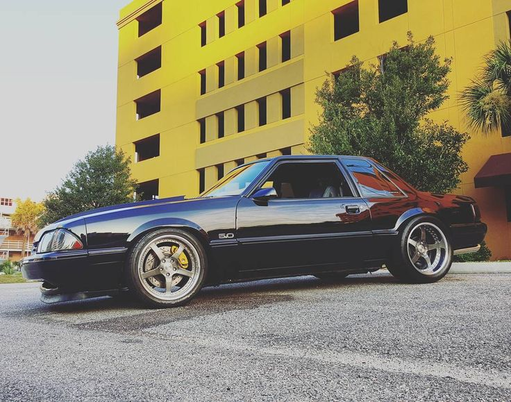 """2,676 Likes, 67 Comments - Foxbody (@foxbodysonly) on Instagram: """"FOR SALE!!! Selling my True Forged 3 piece Mach 5s 18x8 18x10. Brushed aluminum with double tinted…"""""""