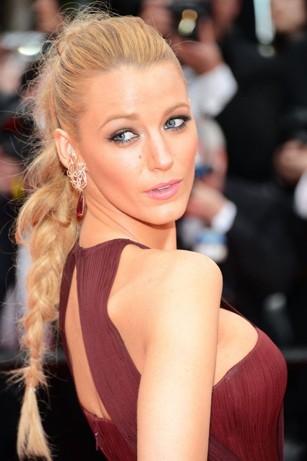12 Reasons To Give Your Ponytail An Upgrade #refinery29  http://www.refinery29.com/celebrity-ponytail-pictures#slide1  Ponies don't have to be polished, as proven by Blake Lively. Her wispy, flyaway-laden braid is insanely cool and so easy to recreate.