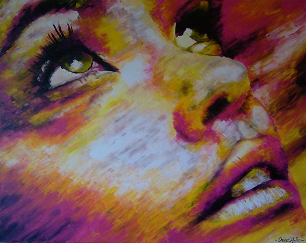 faces by Petra Dijks, via Behance
