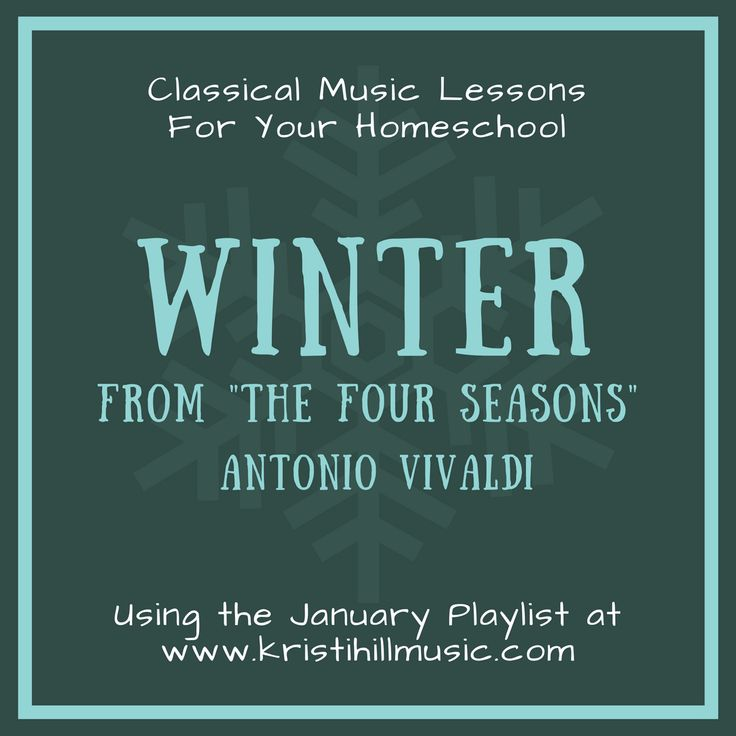 Winter from the Four Seasons // Vivaldi