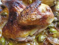 Easy Baked Moroccan Chicken Recipe - Baked Chicken Tagine