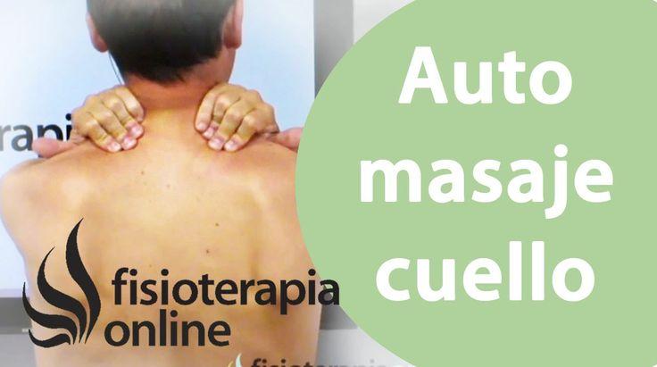 Auto-masaje para liberar la tensión de cuello, cervicales y de trapecios.
