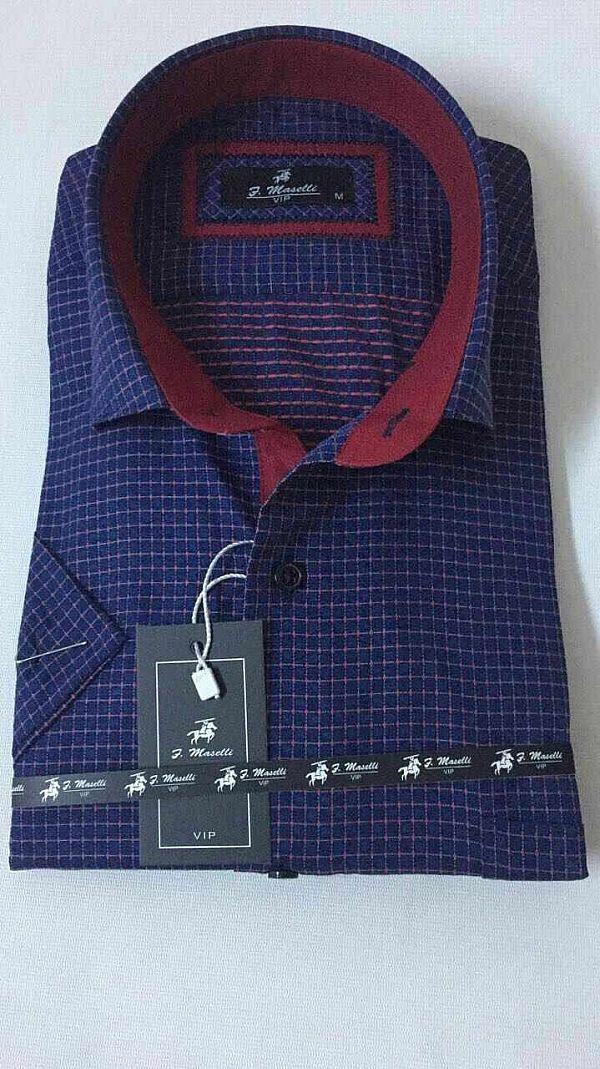 Изготовитель:    Maselli(Турция) Материал:    коттон Стиль:    классика  Принт:    абстрактный Тип кроя:    классический Рукав:    короткий  Цена за ед.:    7.80 $  Цена за упаковку.:    39.00 $   Количество в упаковке:    5 Моделька:темно синяя с бордовой отделкой (Артикул: 00084-2655)