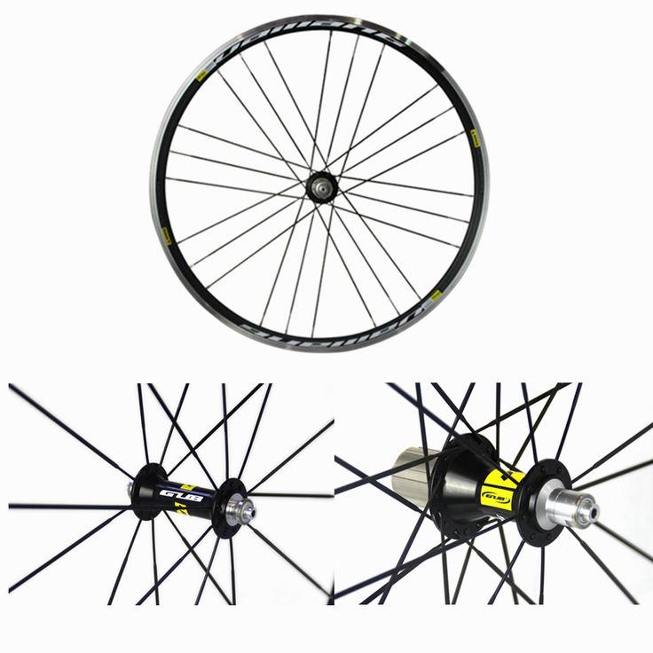 Gub vaillant 700c bicicleta de carretera ruedas de aluminio delantero y trasero de freno v grupo 24 agujero racing wheel en Ruedas de Deportes y Entretenimiento en AliExpress.com | Alibaba Group