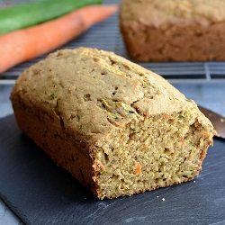 Carrot Zucchini Bread HealthyAperture.com