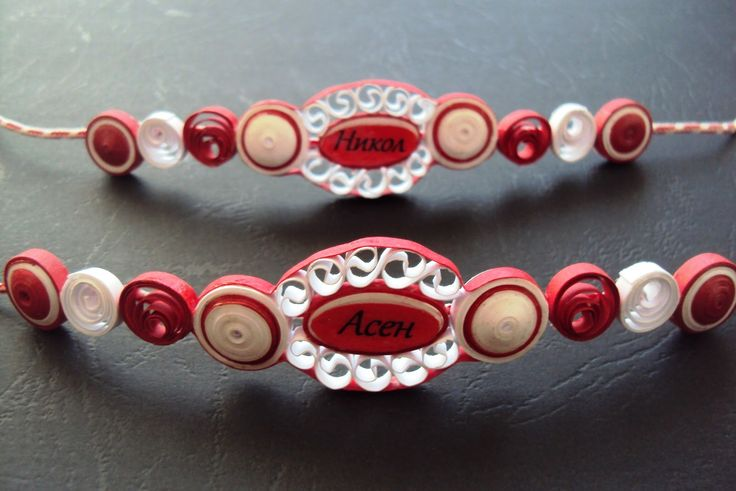Quilled bracelet, or necklace - by: Maria Cvetanova -  www.seasonsquilling.blogspot.com