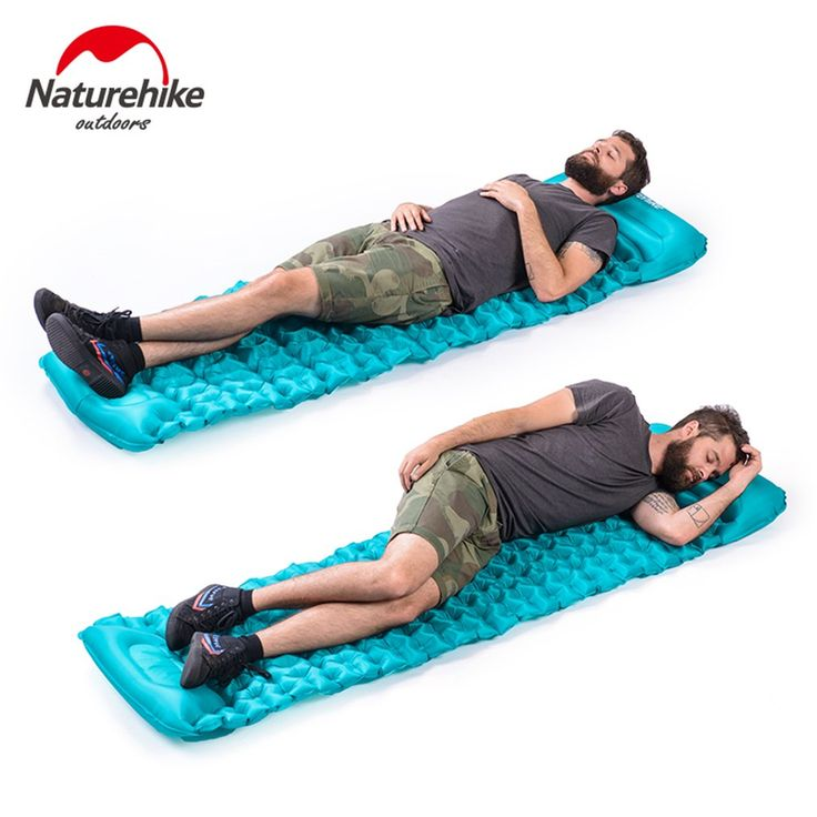 US$39 Feb Only. Naturehike 20D Nylon TPU Manual Inflating Camping Sleeping Mat Hand Pressure Outdoor Inflatable Moistureproof Mattress Sleep Pad ~ Click the image to view the details on  AliExpress.com #Camping