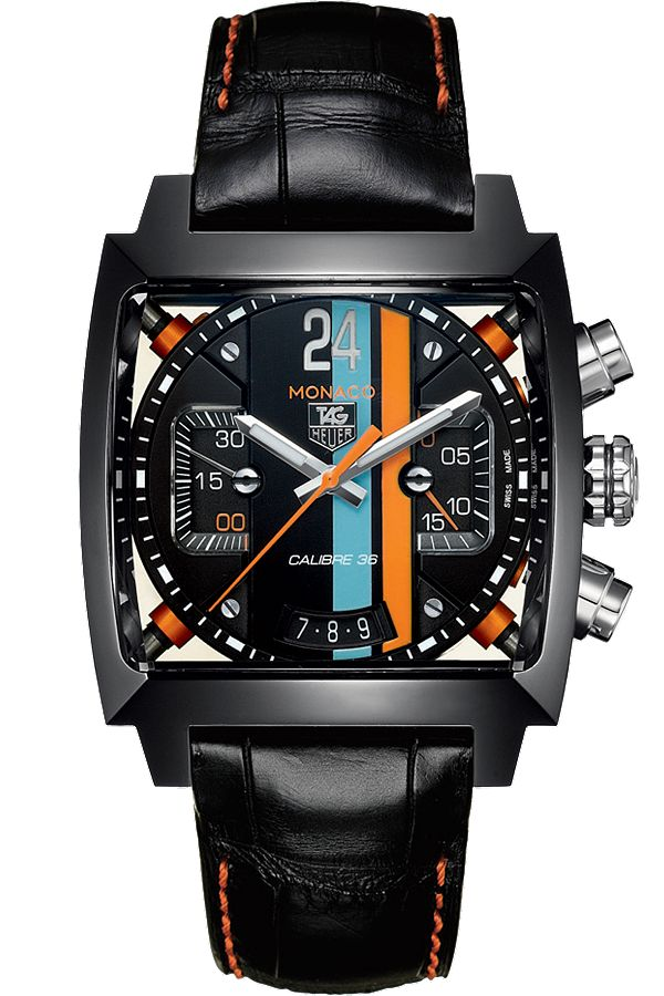 @TAGHeuerOnline Monaco Automatic Chronograph Titanium Carbide #TAGHeuer #TAG @Calibre11 #watch #watches March Madness