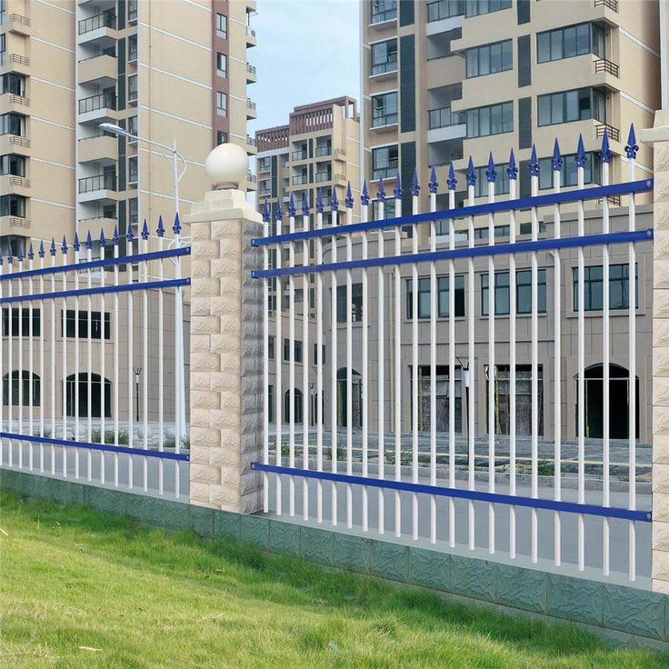 Cheap wrought iron fence panels for sale model DK006