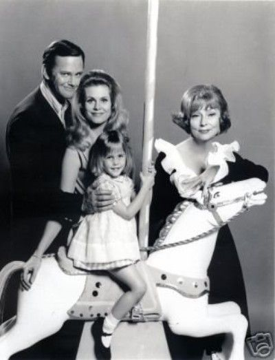 """Bewtiched... Co-star Dick Sargent (shown here), who in 1969 replaced the ill Dick York as Samantha's husband, Darrin Stephens, had a more difficult relationship with Moorehead, caustically describing her as """"a tough old bird."""""""