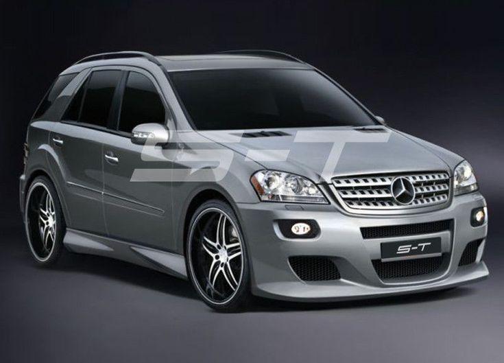 Mercedes ML W164 Komplettvers Spoiler Set Body Kit Tuning Umbau neu Verbau
